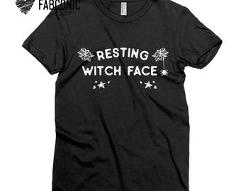 Resting Witch Face Shirt, Halloween Resting witch face shirt, Resting witch face, Halloween shirt, Resting witch face t-shirt