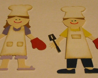 Chef Dolls / Outfit - 2 to a set