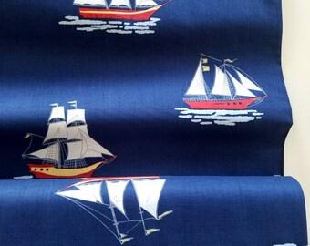 The Best of Sarah Jane - My Favorite Ship (Navy) - Sarah Jane - Michael Miller Fabrics