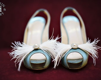 Feathers and Frills Shoe Adornments custom order info