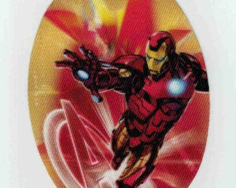 """Patch fusible trend pattern """"iron man"""""""