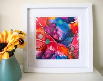 """Colourful Ink Artwork """"Confetti"""""""