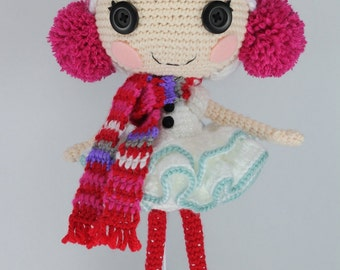 PATTERN: Winter Crochet Amigurumi Doll