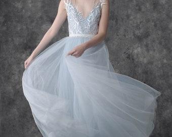 THOUSAND OCEANS wedding dress