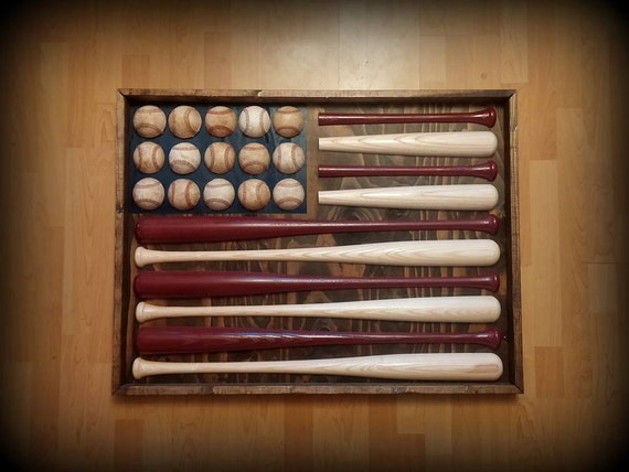 Diy Baseball Bat American Flag