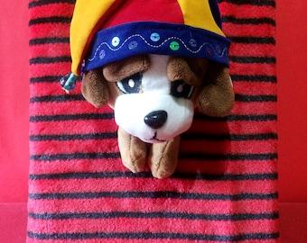 Beagle Stuffed Toy | Clown Beagle | Painter Beagle | Hippie Beagle | Beagle Stuffed Animal