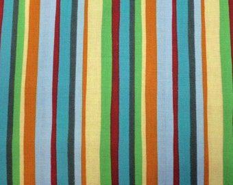 Elizabeth's Studio THINK POSITIVE (STRIPE) 100% Premium Cotton Quilt Fabric - per 1/2 yd