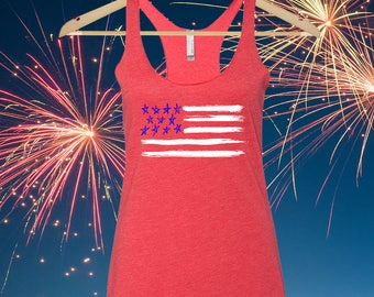 4th July Tank Top - Womens 4th July - 4 of July Shirt - 4th July - Fourth of July Tank - Fourth of July Shirt - 4th of July Shirt Women