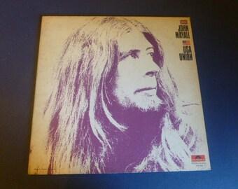 John Mayall USA Union Vinyl Record LP 24-4022 Polydor Records 1970