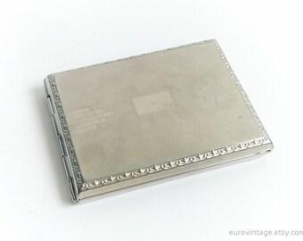 Vintage Cigarette Box Metal Wallet Box Pocket Cigarette Holder Case