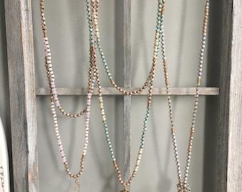 Double Mini Custom Strand Necklace