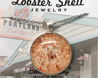 Lobster Shell Jewelry - Made in Maine