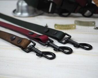 Dog Leash, Leather Dog Leash, Dog Leash Leather, Strong Leather Dog Leash, dog lead, Black Hardware Dog leash, Leather leash,