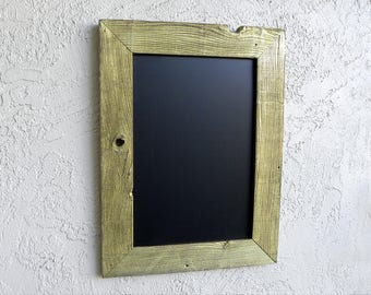 Rustic Chalkboard with Gold Finish Frame. Kitchen Menu. Menu Chalkboard. Rustic Wedding Menu. Custom Event Sign. Rustic Restaurant Menu