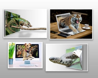 3D Pop Out Photo Illusion Photoshop Actions