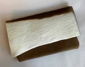 Springbok Hide Clutch