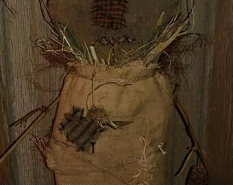 Primitive Scarecrow doll Scarecrow Halloween Fall Harvest decor