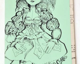 Anne of the Celtic Mist Doll Pattern - Elinor Peace Bailey