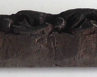 Vintage wood Block For Textile / Fabric Handmade & Hand Carved#34