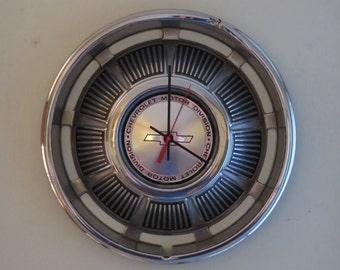 1969 Chevy Impala Hubcap Clock No. 2594