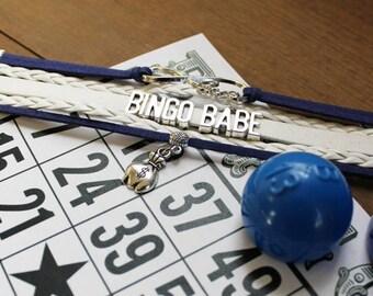 Bingo Bracelet | Bingo Jewelry | Bingo Lover Bracelet | Bingo Lover Jewery | Bingo Player | Bingo Night Bracelet | Bingo Player Gift
