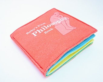 Philosophy Cloth Book for Babies