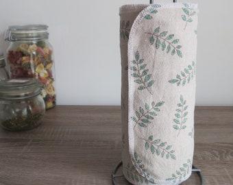 Washable kitchen towel roll - Reusable paper napkin - Reuse - Tea towels - Hand towel - Dish cloth - Zero waste - Eco friendly - Green Gift