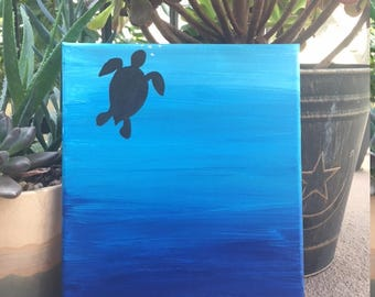 Just breathe canvas painting