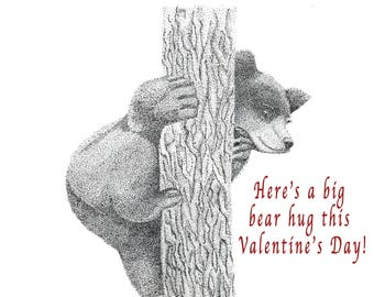 Here's a big bear hug this Valentine's Day!