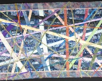 Handmade Art Quilt - RAYS