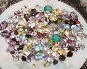 Over 150 Carats of Loose Natural Semiprecious Gemstones