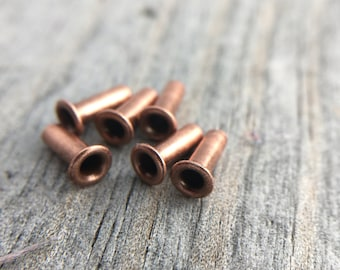 Copper Eyelet Jewelry Supplies Jewelry Finding 3/32x1/4