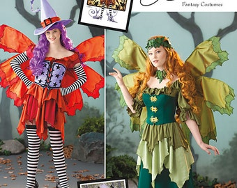OUT of PRINT Simplicity Pattern 1550 Misses' Fairy costume and Hat
