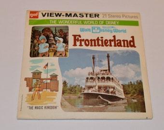 Vintage A951 1970's Walt Disney World Frontierland GAF View Master Reels