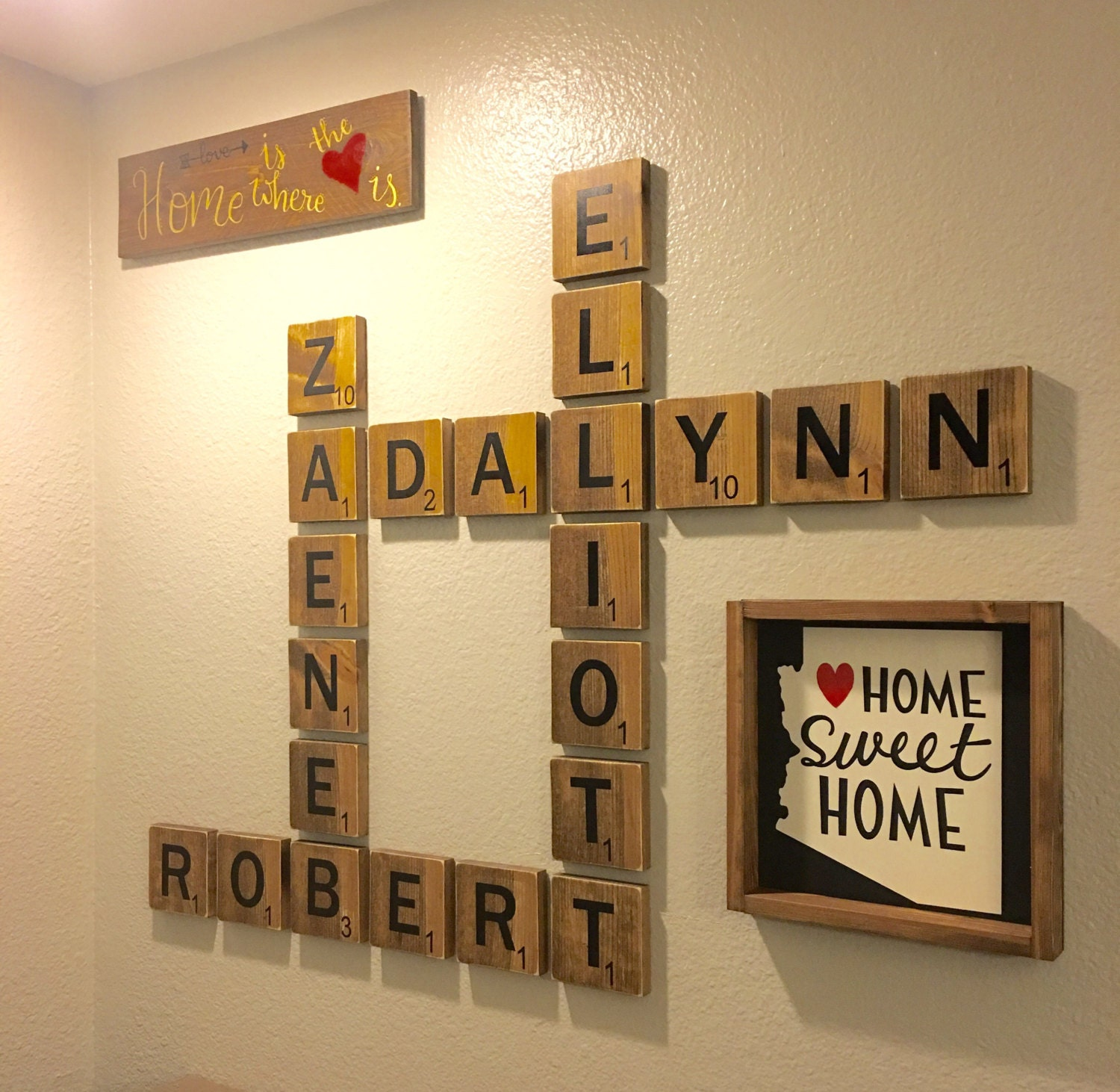Name Wall Art | Wall Plate Design Ideas