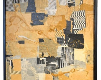 Mixed-Media Collage by California Artist Don Werner