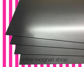 Plain A4 / A5 Magnetic Sheets 0.5mm for Crafts & Spellbinder Die Storage Nesting Dies Cardmaking Papercraft Placement Mat Fridge Vehicle
