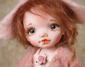 Art doll ooak art doll miniature doll