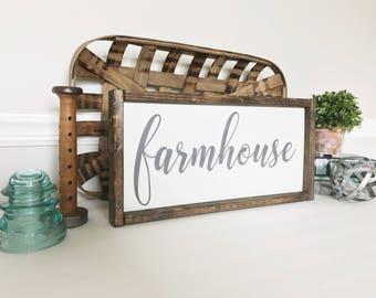 Farmhouse Sign, Farmhouse Decor, Rustic Wall Decor, Fixer Upper Style, Living Room Decor