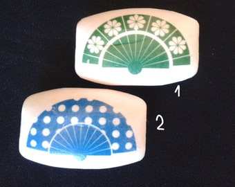 Hand-decorated soaps-fans