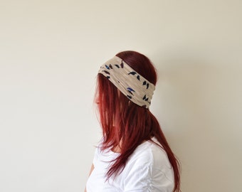 Boho Headband, Bird Headband, Hair Band, Headbands for Women, Yoga Headband, Fitness Headband, Hair Accessory, Women's Gift