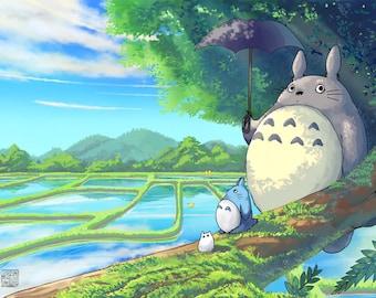 Totoro print