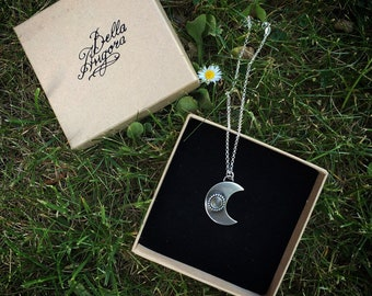 Magic MOON Necklace/ Pendant in sterling silver