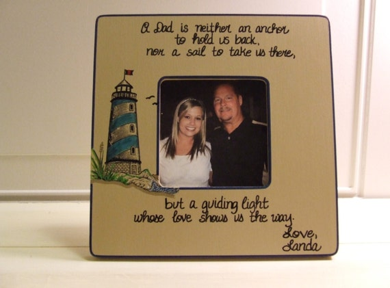 Father of the Bride Frame Picture frame for Dad Wedding Gift to Dad ...