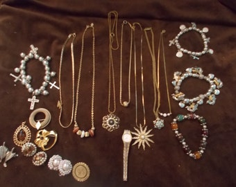 SALE -Vintage Jewelry Collection