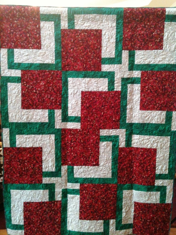 Almost Christmas 54 x 72 inch art quilt