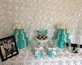Breakfast at Tiffany's Inspired Party Package
