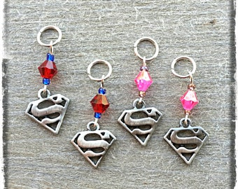 "Hearing Aid Charms: Super Heroes (also available in a matching Mother Daughter Set)! Select ""No bead"" for boys!"