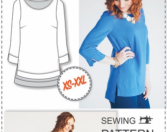 Blouse Patterns - Sewing Patterns - Clothing Patterns - Sewing Tutorial - Sewing Patterns For Women - Sewing Projects - Height 164