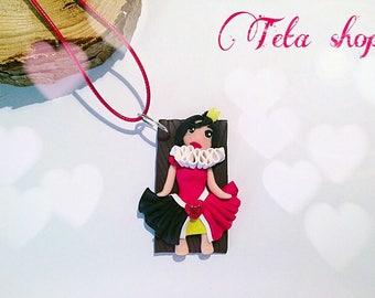 princess doll necklace